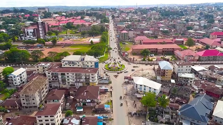 Lagos State to Aba, Abia state